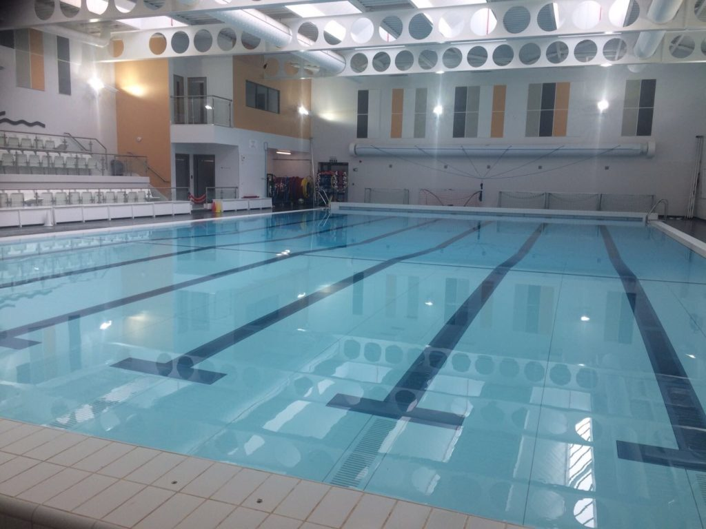 Children's swimming lessons at Northampton School for Boys with Water Wizards Swim School